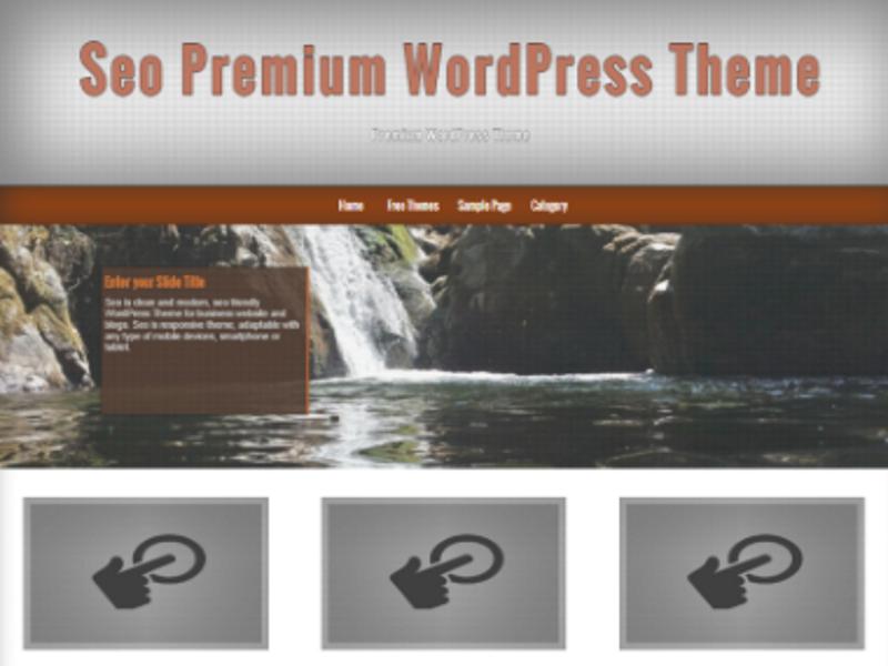 Free WordPress Seo Theme
