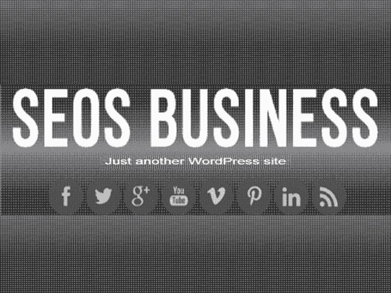 Free WordPress BUSINESS Theme