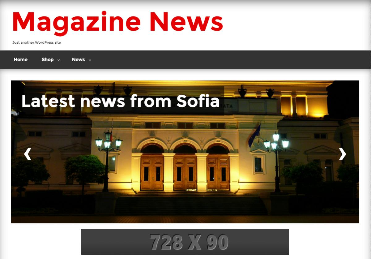WordPress Magazine News Theme